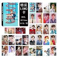 BTS - LOVE YOURSELF 結 ANSWER - PHOTO CARD SET メンバー選択 - LOMO CARD 防弾少年団 トレカ フォトカードセット30枚 (JIMIN)