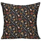 ギター 高品質 低反発 座布団 クッション 椅子用 かわいい オシャレ 寝具 中袋 中身:綿