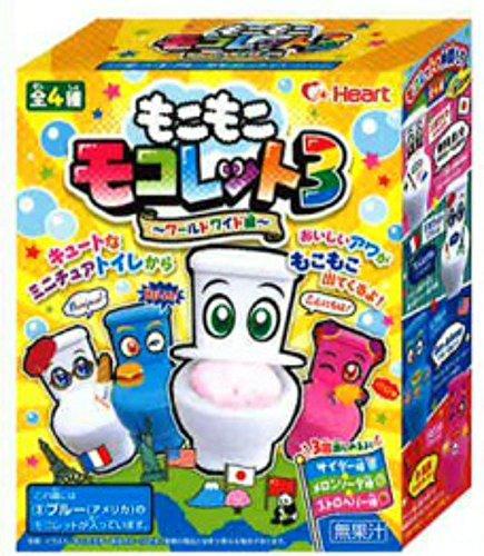 もこもこモコレット3 8個入りBOX(食玩・粉末清涼飲料)