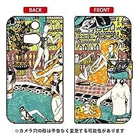 SECOND SKIN 手帳型スマートフォンケース 若林夏 「pool」 / for HTC J butterfly HTL23/au  AHTL23-IJTC-401-LJ68