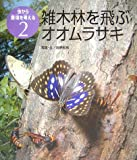 雑木林を飛ぶオオムラサキ (虫から環境を考える)