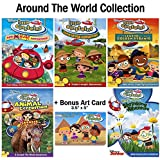 Little Einsteins: Disney TV Series - Around The World Collection - 14 Episodes + 1 Movie (Loaded With Special Features - Interactive Games, Extras, and Activities) + Bonus Art Print