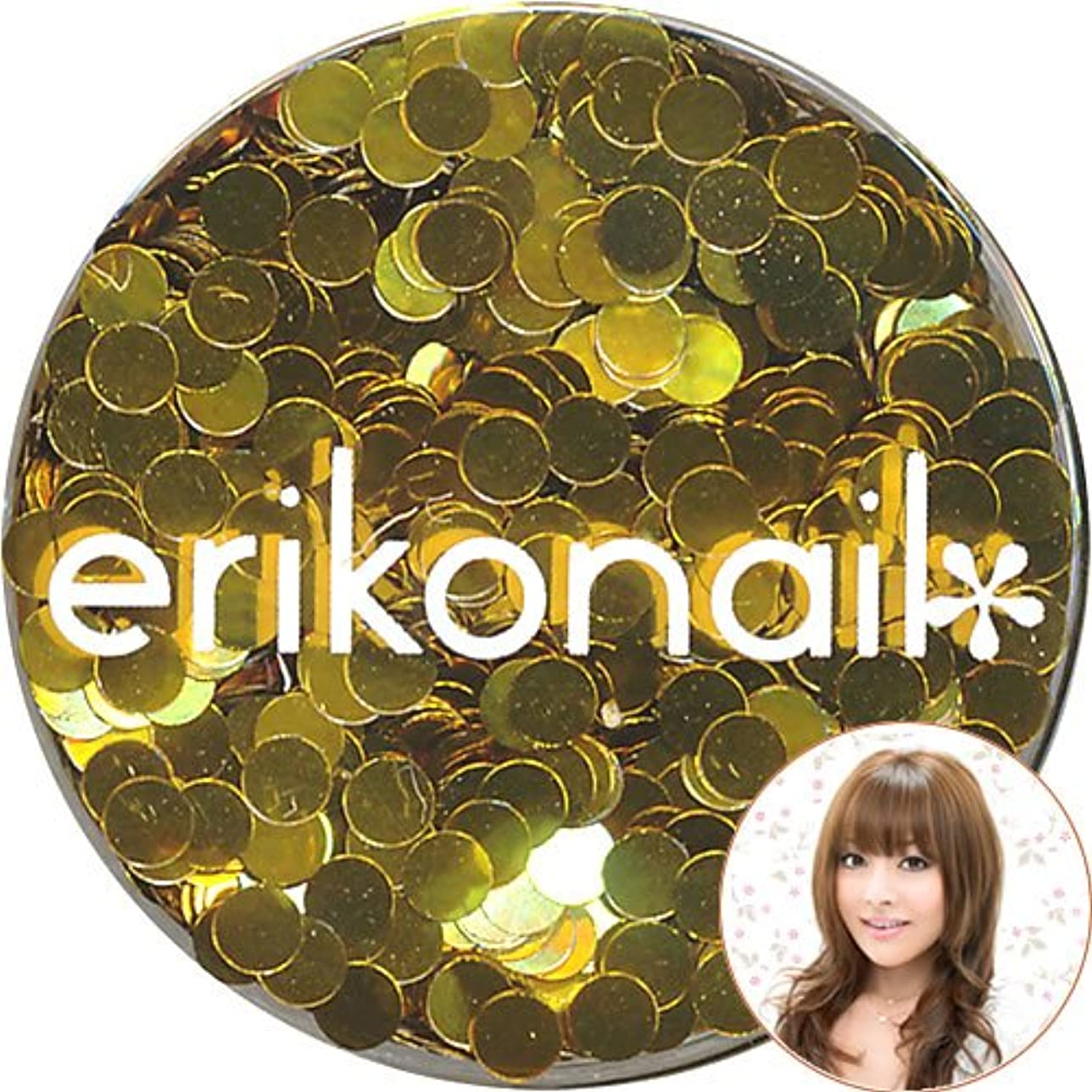 冷蔵する悪意のあるくすぐったい黒崎えり子 ジュエリーコレクション (ERI-46)ダークゴールド 丸2mm erikonail(エリコネイル)