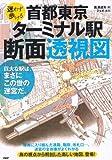 首都東京・ターミナル駅断面透視図