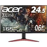Acer ゲーミングモニター SigmaLine 24.5インチ KG251QJbmidpx 0.6ms(GTG) 16…