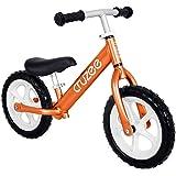 "Cruzee Two 12"" Aluminium Balance Bike Rose Gold"