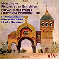 Mussorgsky: Pictures At An Exhibition/Stravinsky: Petrushka by New Philharmonia (2015-01-25)