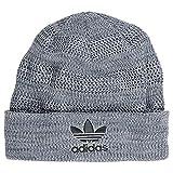 (アディダス) ADIDAS メンズ 帽子 ニット帽 adidas Originals Weave Striped Knit Hat 並行輸入品