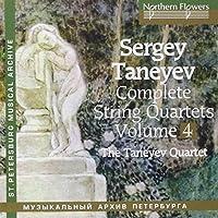 Sergei Taneyev Complete String Quartets Volume 4 by Taneyev Quartet (2010-09-20)