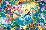 1000ピース ジグソーパズル めざせ!パズルの達人 人魚姫物語 (50x75cm)