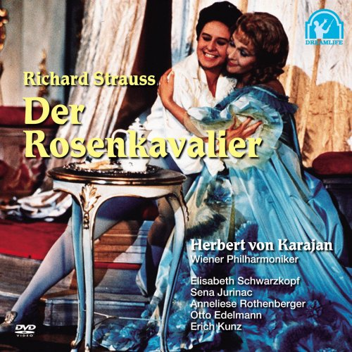 DVD リヒャルト・シュトラウス 楽劇「ばらの騎士」全3幕/カラヤン&ウィーン・フィル(ザルツブルク音楽祭1960年) のAmazonの商品頁を開く