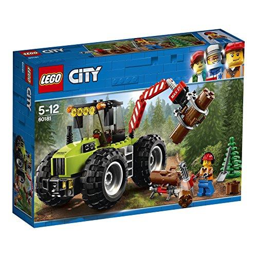 レゴ(LEGO) シティ 森のパワフルトラクター 60181