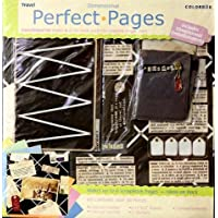 Scrapbook Pages Kit 12 x 12 Travel Theme - Makes 6 Pages - Colorbok Perfect Pages Dimensional