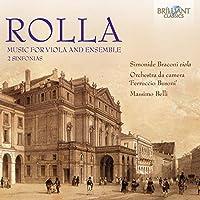 Rolla: Music for Viola & Ensemble by Simon Braconi