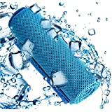 Cooling Towel Sports, Icy towels, Large Size 30cm x 90cm, for Sports, Workout, Fitness, Gym, Yoga, Pilates, Travel, Camping &