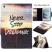 iPad Airケース, iPad 5ケース, Newshine [パーフェクトフィット]軽量合成レザーフォリオ磁気スマートカバー[スタンドケース自動スリープ/スリープ解除アップ機能付き] for Ipad Air / iPad 5 iPad Mini 4