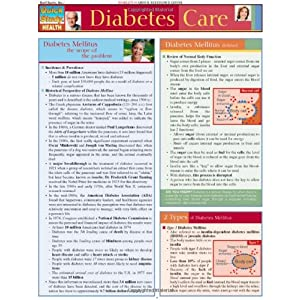 Diabetes Care Quick Study Reference Guide (Quick Study Health)
