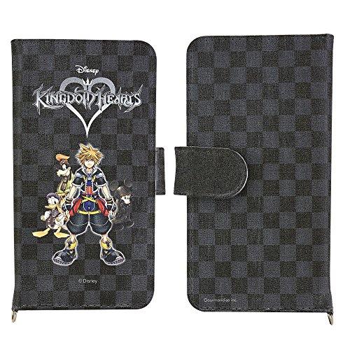 【Amazon.co.jp限定】キングダムハーツ/マルチフリップカバー (M) hearts