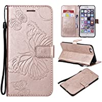 iPhone 6 Plus iPhone 6s Plus Case [ Perfect Fit ] 携帯電話ケース アクセサリー アクセサリー Heavy Duty Protection Bumper Case for iPhone 6 Plus iPhone 6s Plus (Rose Gold)