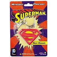 Superman Logo スーパーマン グッズ ロゴ Bendable Keychain キーホルダー [並行輸入品]