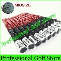 2015新しい到着10pcs / lotゴルフグリップ3色ゴムとカーボン糸ゴルフアイアングリップMidSizeゴルフクラブグリップ送料無料