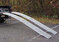 10ftアーチ型アルミ折りたたみ/ CollapsingランナーRamps USA、1012F-21ペア