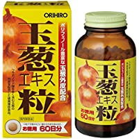 オリヒロ 玉葱エキス粒 お徳用 600粒