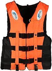 Lixada ライフジャケット 呼び子付け 110kgまでの負荷力 フローティングベスト 大人用釣り 救命胴衣 男女兼用 L,XL,2XL