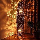 籐 ラタン スタンドランプシェード バリのアジアン照明 バリ雑貨 スタンドライト フロアライト @CBi(アクビィ) aczl001(z920703s)