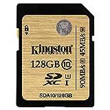 キングストン Kingston SDカード 128GB Class10 UHS-I 対応 SDXC SDA10/128GB 永久保証
