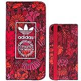 adidas 時計 adidas(アディダス) iPhone7 手帳型ケース ボヘミアンレッド [並行輸入品]
