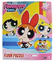 "Power Puff Girls Floorパズル( 46-piece ) 24 "" x 36 """