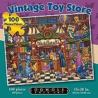 Dowdle Jigsaw Puzzle - Vintage Toy Store - 100 Piece