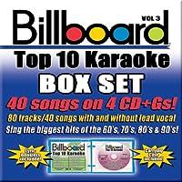 Vol. 3-Billboard Top 40 Karaoke Box Set