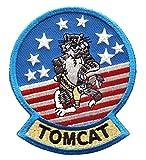 ミリタリーワッペン アメリカ軍パッチ F-14トムキャット マスコット (ノーマル仕様) [並行輸入品]