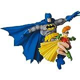 MAFEX マフェックス No.139 バットマン ブルーバージョン & ロビン The Dark Knight Returns 各全高約160/110mm 塗装済み アクションフィギュア