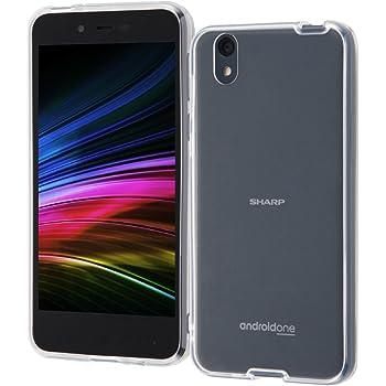 [ 耐衝撃 ] Android One S3 ケース 衝撃吸収 ハイブリッド 素材 [ ストラップ ホール ][ 高い透明度 ] Softbank/Ymobile SHARP アンドロイドワン S3 耐 衝撃 カバー/クリア