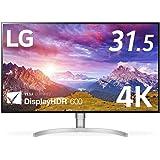 LG モニター ディスプレイ 32UL950-W 31.5インチ/4K/DisplayHDR600/Nano IPS/Thunderbolt3×2、HDMI、DP/スピーカー/ピボット、高さ調節