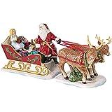 Villeroy & Boch Christmas Toys Nostalgia Sledge, Porcelain, White, 36x14x17cm