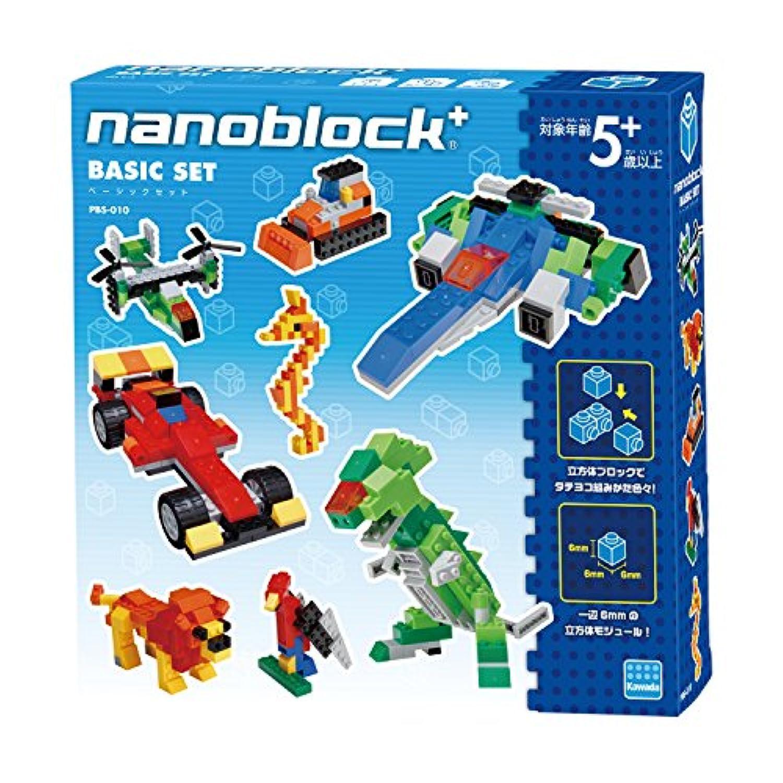 ナノブロックプラス ベーシックセット PBS-010