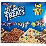 ケロッグ ライス クリスピー バラエティーチョコレート菓子 54本入り Kelloggs Rice Krispies Treats 54 Bars Variety Pk