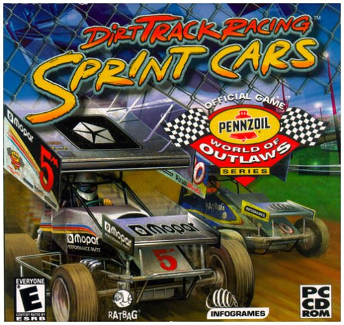 Dirt Track Sprint Cars (Jewel Case) (輸入版)