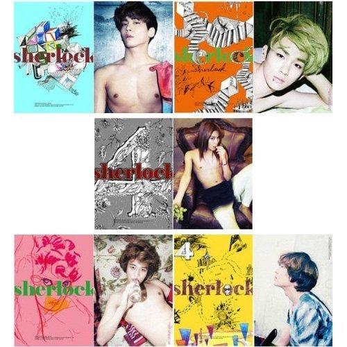 SHINee 4th Mini Album - Sherlock(韓国盤) (初回特典ポスター付き/折り曲げなし/丸めて同梱)