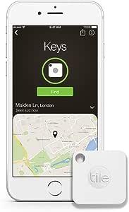 Tile mate 貴重品の紛失防止・盗難対策タグ iPhone/Android 携帯GPS Bluetooth [並行輸入品]