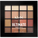 NYX Professional Makeup Ultimate Shadow Palette, Warm Neutrals