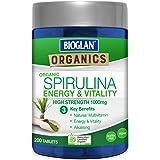 Bioglan BG Organics Spirulina Tablets 200s, 0.26 Kilograms