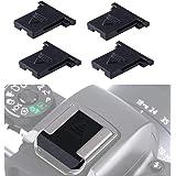 4個入 JJC ホットシューカバー キャップ Canon EOS R5 R6 R RP 90D 80D Kiss M M2 X10i X10 X9 X9i X8i 6DM2 5DM4 5DM3 5DM2 5DS 5DR 1D X Mark III I