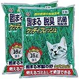 アイリスオーヤマ ウッディフレッシュ 猫砂 16L×2袋 WF-160
