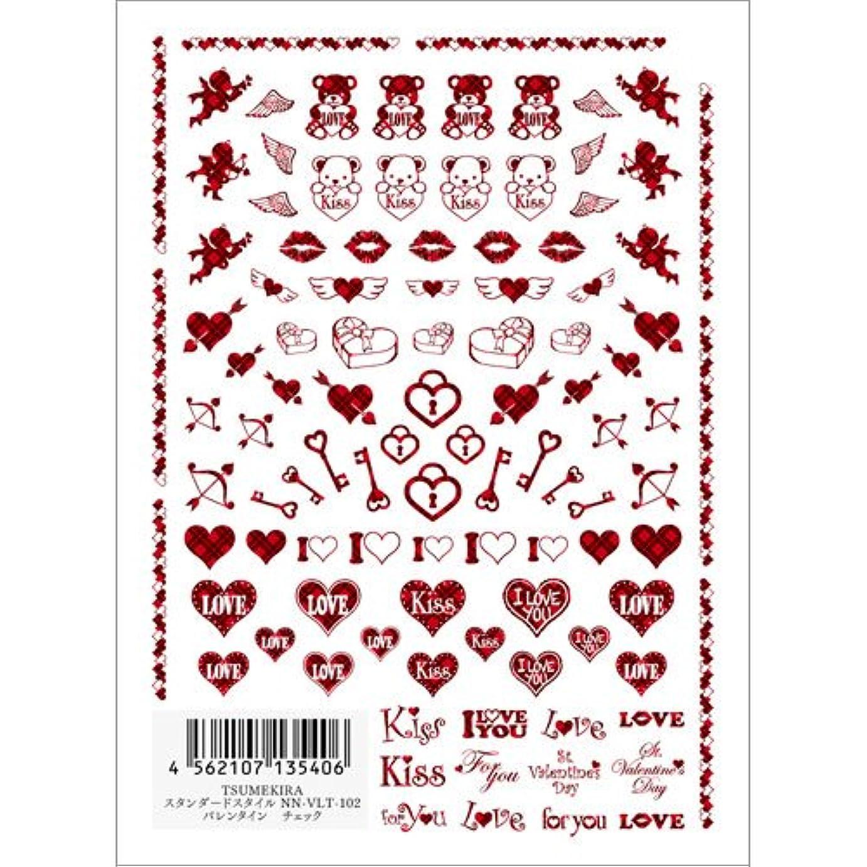 知っているに立ち寄る売り手あいにくツメキラ ネイル用シール スタンダードスタイル バレンタイン チェック