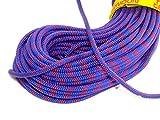 テンドン クライミングロープ アンビション ダブル 8.5mm 50m ブルー コンプリートシールド加工